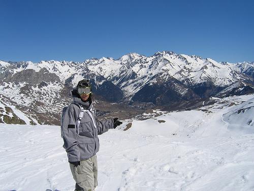 Nieve y montañas en Formigal 1