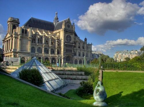 Visita la Iglesia de San Eustaquio en París