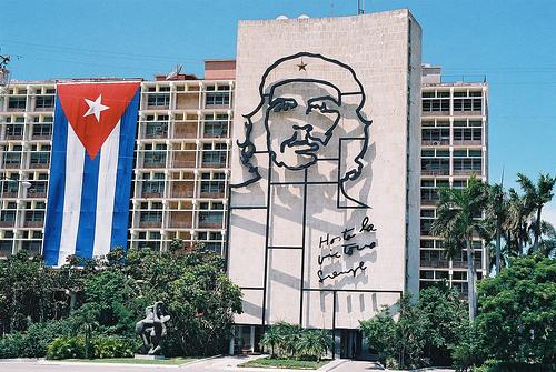 La Plaza de la Revolución en La Habana