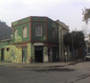 Barrio de Bellavista en Santiago de Chile 2