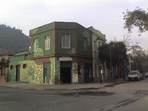 Barrio de Bellavista en Santiago de Chile 1