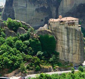 Meteora, monasterios en columnas naturales 2