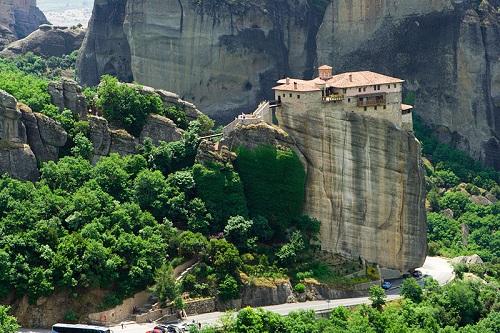 Meteora, monasterios en columnas naturales 1