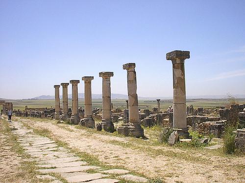 Volubilis, ciudad romana en Marruecos 1