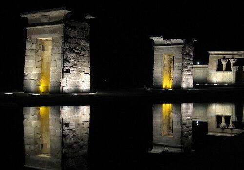 Templo de Debod en Madrid 15