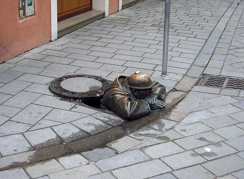 Las simpáticas estatuas de Bratislava