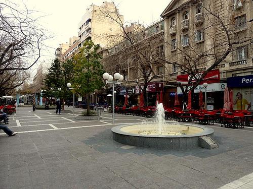 Las plazas de Mendoza 1