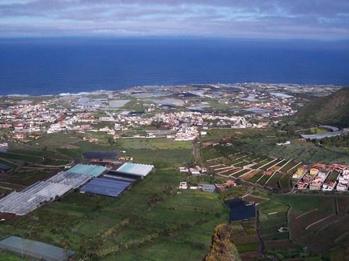 El Valle de Guerra, balcón del Atlántico en Tenerife