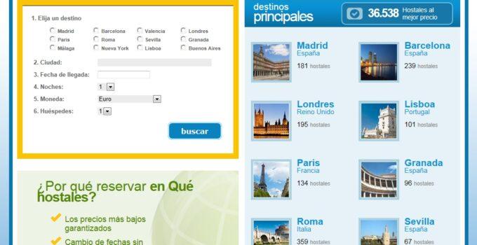 Quehostales.com, nueva web de reservas de hostales 5