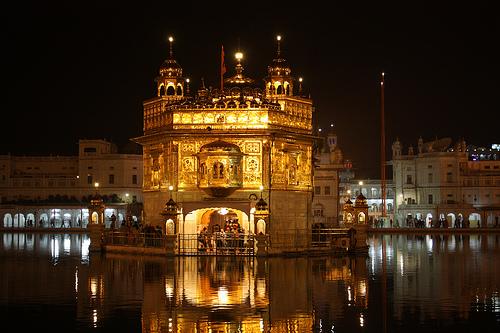 El templo dorado de la India