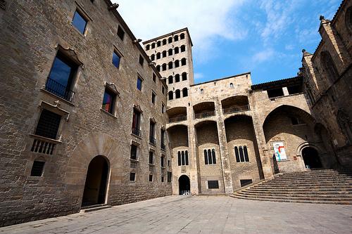 Plaça del Rei, el rincón más bonito de Barcelona 1