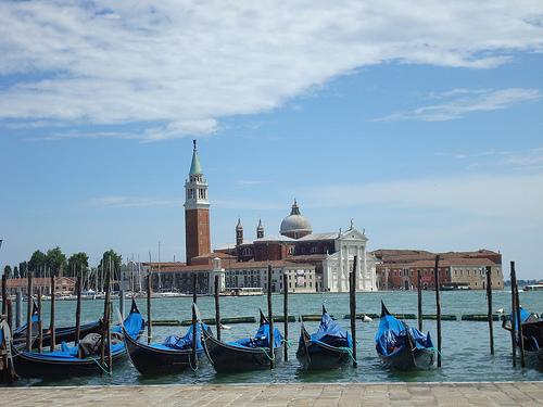 Transportes acúaticos en Venecia 1