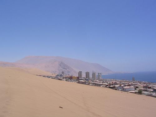 Iquique, entre la duna y el mar 1