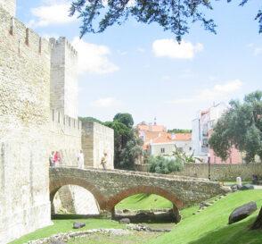 Castillo de San Jorge, panorámica de Lisboa 3