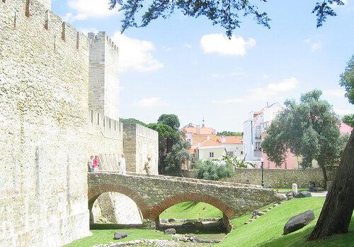 Castillo de San Jorge, panorámica de Lisboa 10