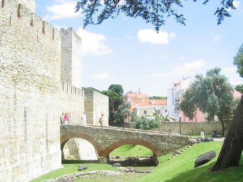Castillo de San Jorge, panorámica de Lisboa