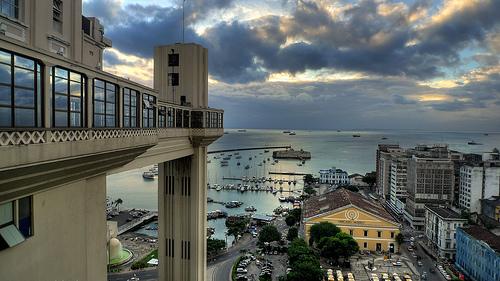 Elevador Lacerda, símbolo de modernidad en Salvador de Bahía