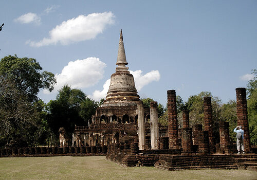 Sukhothai, primera capital de Thailandia 1