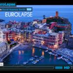 Timelapse de un viaje por Europa.