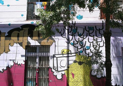 Barrio Brasil en Santiago de Chile 3