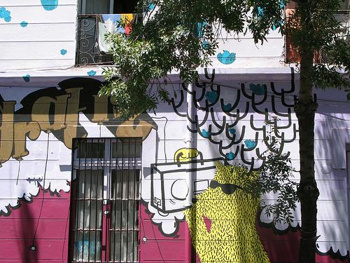 Barrio Brasil en Santiago de Chile