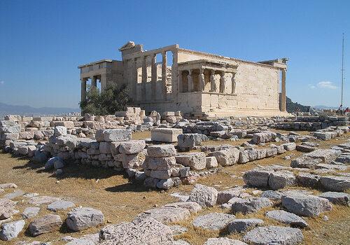 El Erecteion en Atenas 11