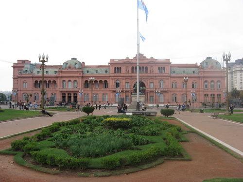La Casa Rosada en Buenos Aires