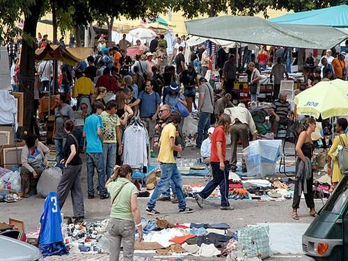 La Feira da Ladra en Lisboa