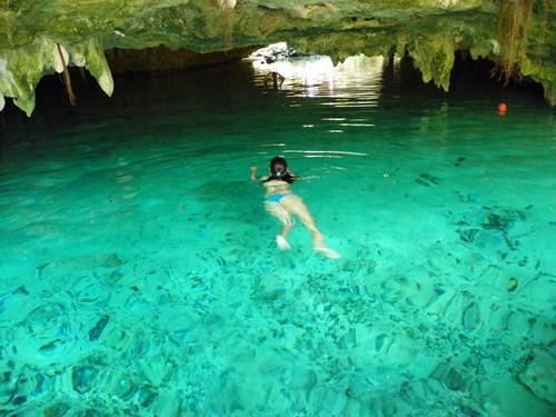 El Gran Cenote de Tulum en la Riviera Maya