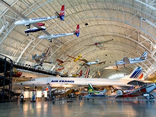 El Museo Nacional del Aire y el Espacio en Washington