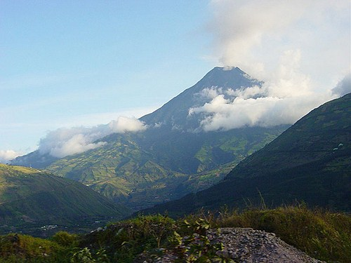 El Volcán del Tungurahua en Ecuador