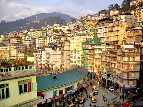Gangtok y sus monasterios, en India