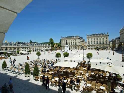 La Plaza de Stanislas en Nancy, Francia