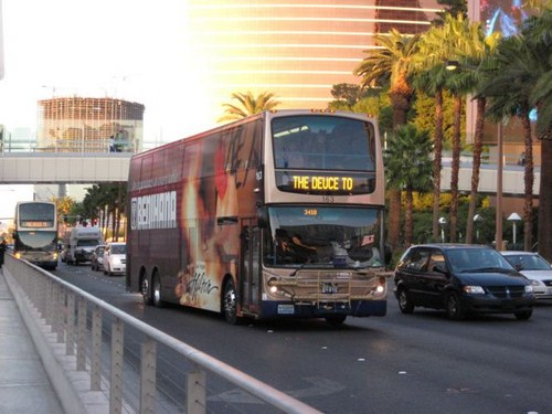 Transportes en Las Vegas, cómo moverse