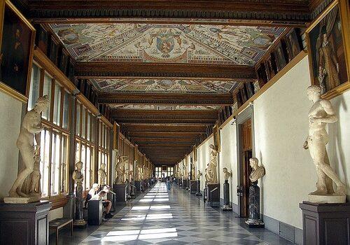 De visita a la Galería Uffizi, el corazón del arte en Florencia 4