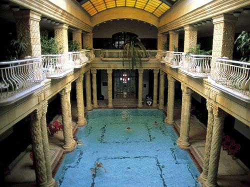 El Balneario Gellert en Budapest