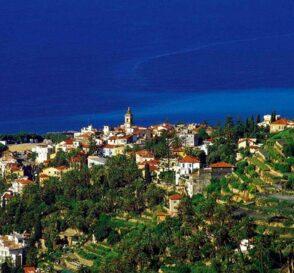 Bordighera, en la costa de la Liguria italiana 1