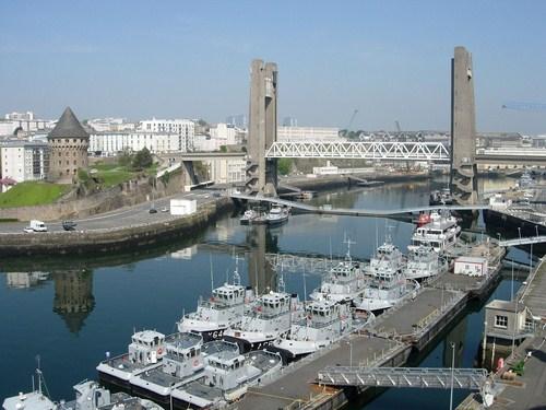 Brest, destino de cruceros en Francia