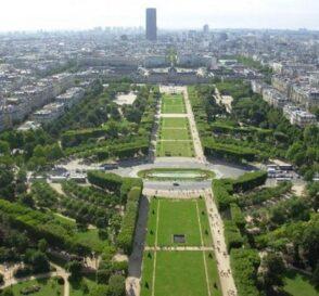 El Campo de Marte en París 1