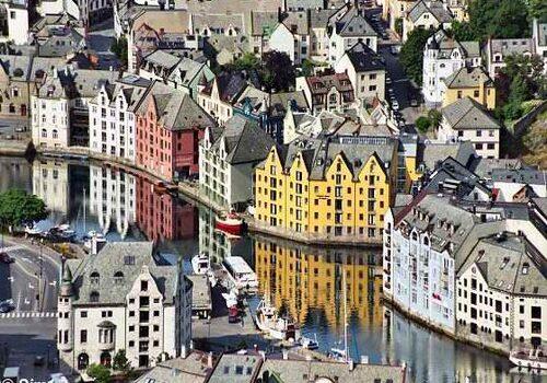 Alesund, la ciudad del Art Nouveau en Noruega 3