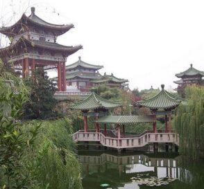 El Parque Jingshan en Pekín 2