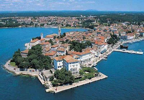 Porec, excursión en barco desde Venecia 10