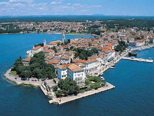 Porec, excursión en barco desde Venecia