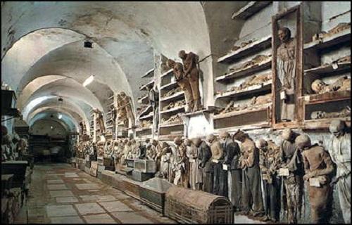 Catacumbas de los Capuchinos de Palermo 1