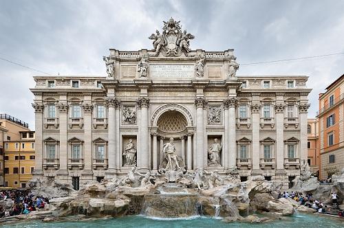 Fontana de Trevi, símbolo de Roma 4