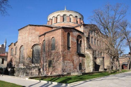 La belleza de la Iglesia de Santa Irene en Estambul 4