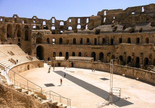 El Anfiteatro de El Djem en Túnez 3