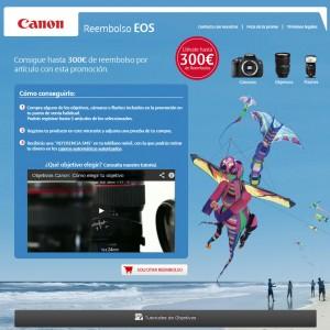 Reembolso EOS Canon