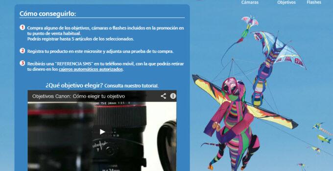 """Vuelve la campaña """"Reembolso EOS"""" de Canon 3"""