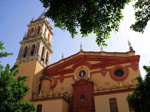 La Iglesia de Santa Ana en Triana, Sevilla